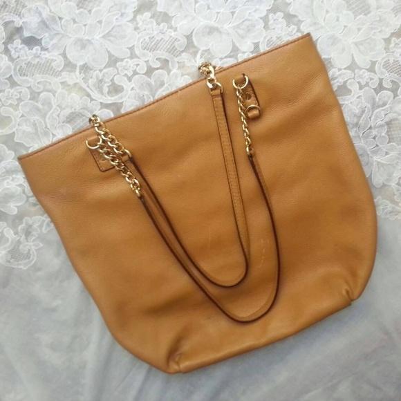 Michael Kors Handbags - Michael Kors Leather Shoulder Bag